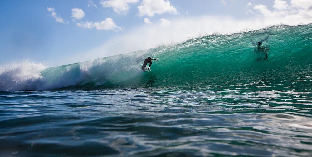 High Noon Surf on Bali's Bukit -