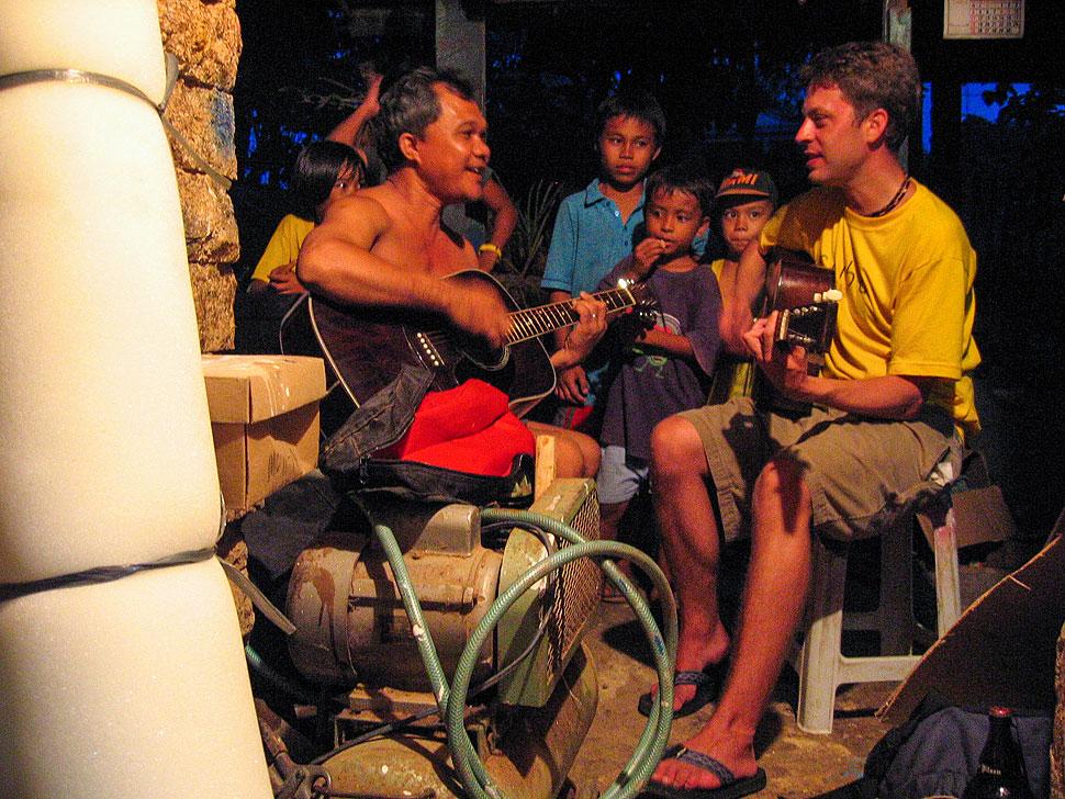 Acoustic Guitar Jam at Jun Reputana's Workshop in Tagbilaran, Bohol