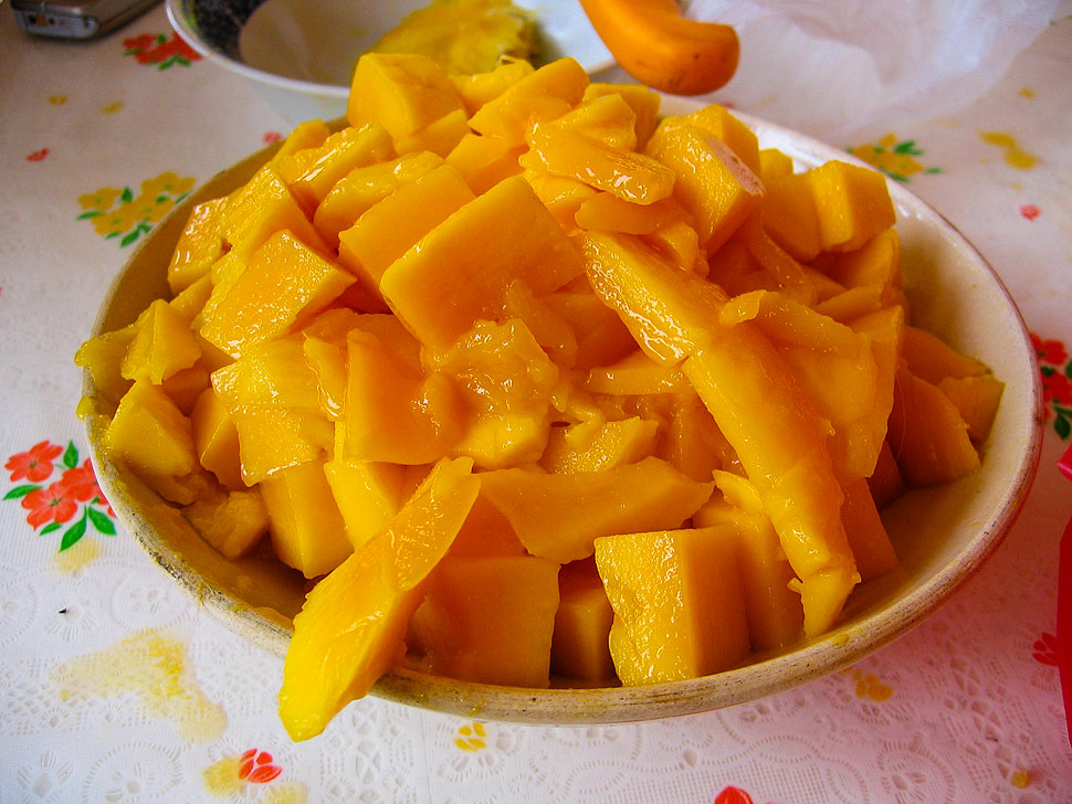 Yellow Mangoes from the Guimaras Island Mango Festival