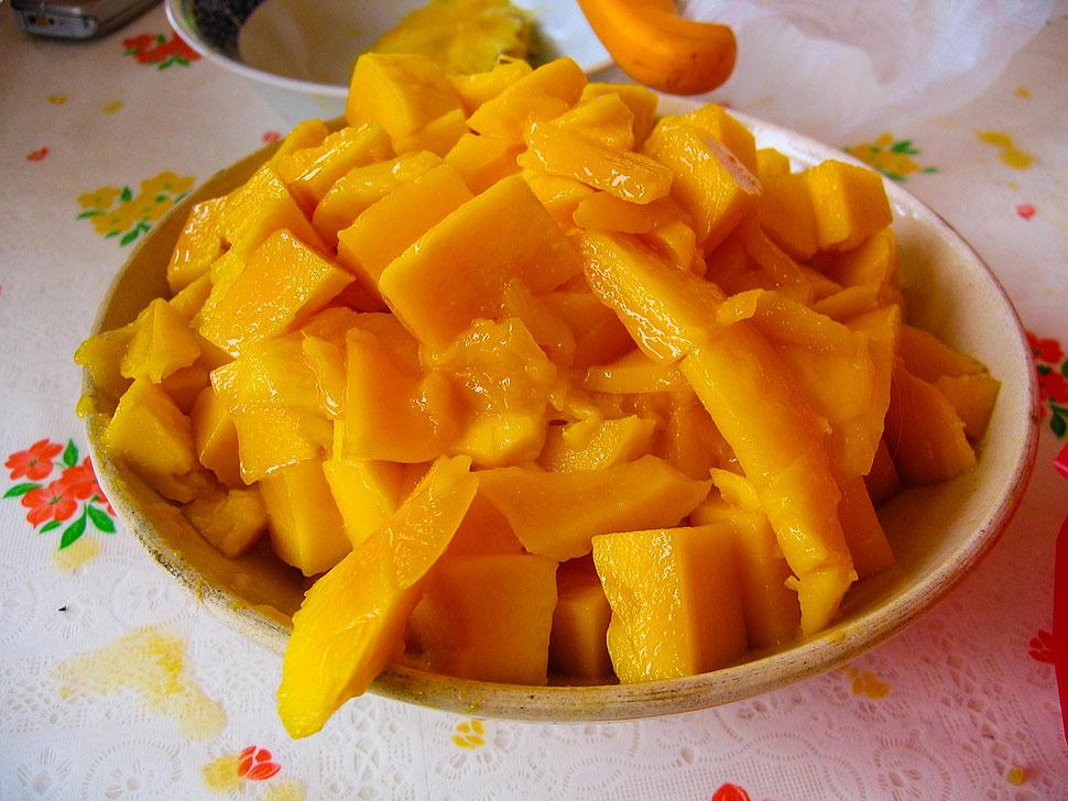 Yellow Mangoes from the Guimaras Island Mango Festival