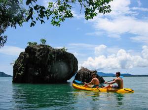 Sea Kayaking the Karst Limestone Islands of Koh Lanta