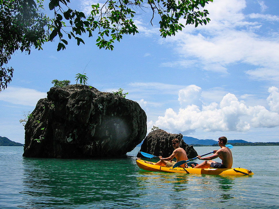 Sea Kayaking the Karst Limestone Islands of Koh Lanta