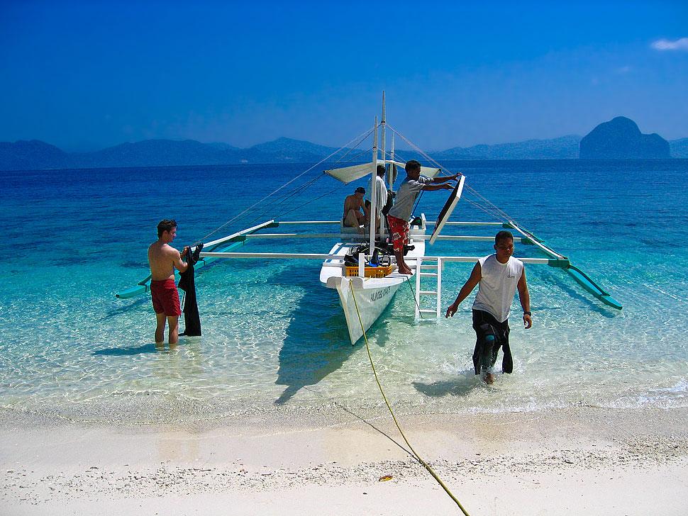 Scuba Diving Day trip around El Nido, Palawan