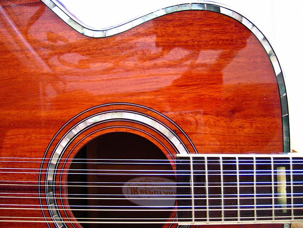Dave Matthews Custom 12 String Acoustic Guitar