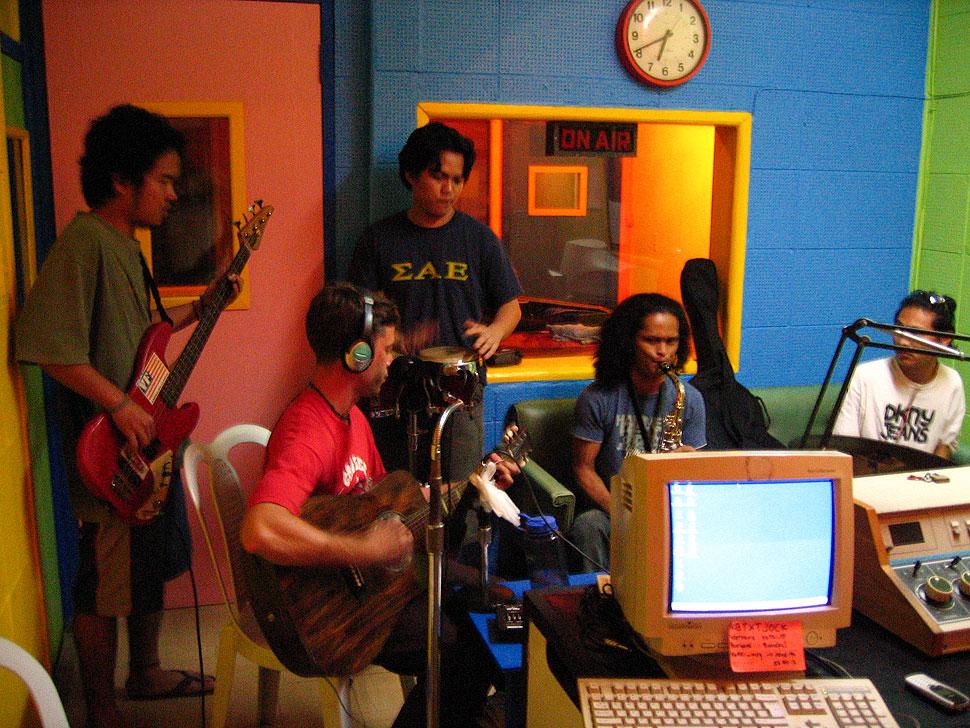 Dumaguete Radio Station Killer Bee 95.1 Frying Nemo Performance