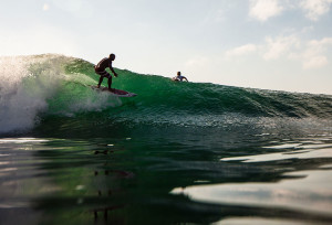 Low Tide Surf Session at Bali's Beaches