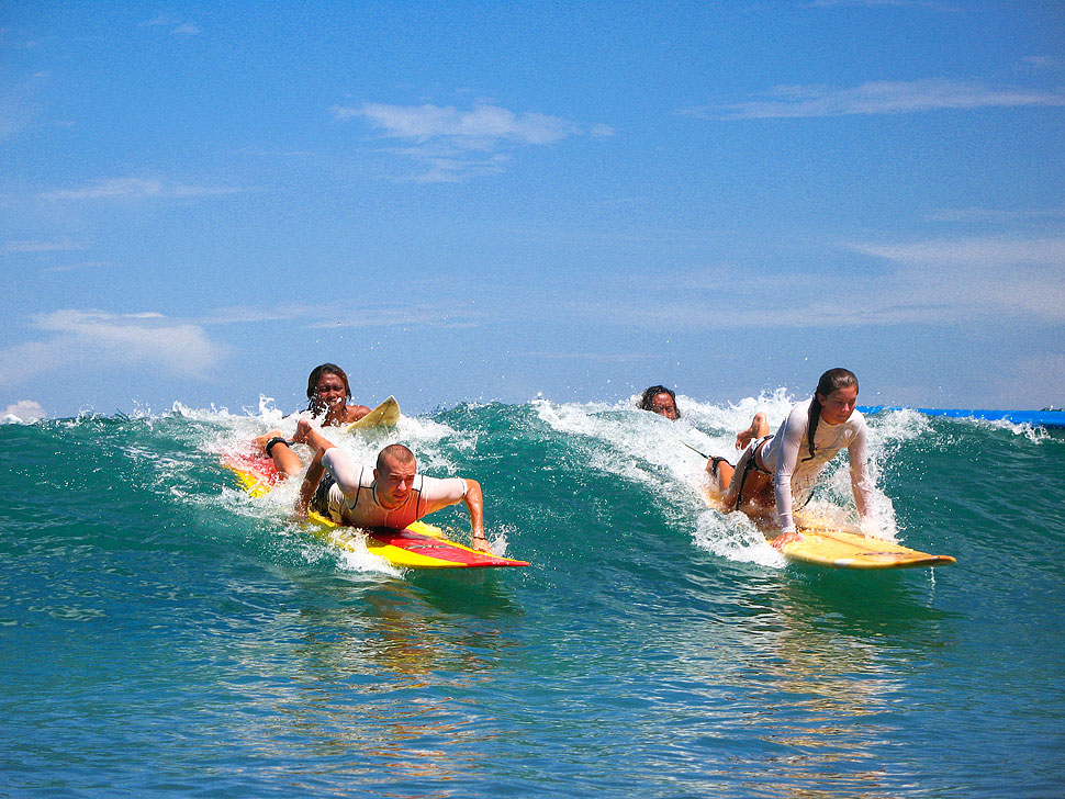 Learn to Surf in Bali with a Local Kuta Beach Surf School