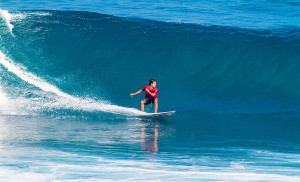 Surfing a Bali Blue Wave in Uluwatu