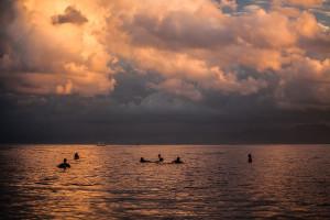 Sunrise Surf Session on Lembongan Island, Bali