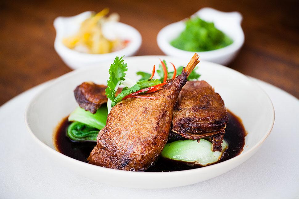 Bali Food Photography: Crispy Duck in Seminyak