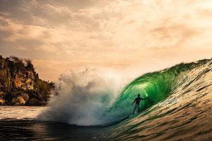 Surfer's Journal profile of Bali's Mega Semadhi - The High Priest of Uluwatu