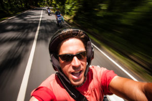 Road tripping by motorbike in Bali