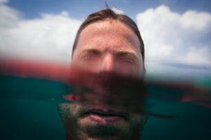 Surf photographer selfie in Siargao