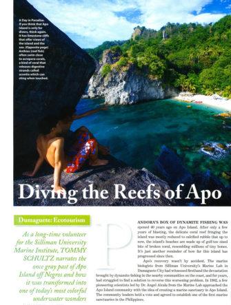 Apo Island Ecotourism Feature | Philippine Airlines | Mabuhay Magazine