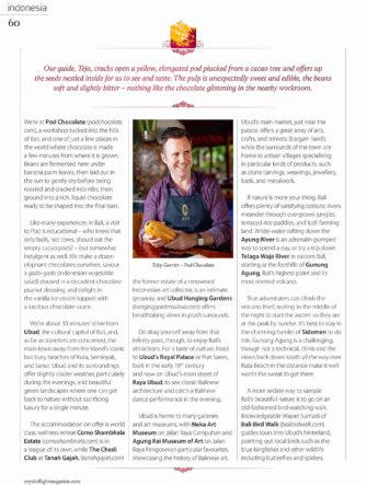 Bali Chocolate Factory - P.O.D. Chocolate Profile | Qatar Airlines | Oryx Magazine