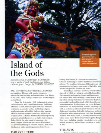 Bali 'Island of the Gods' | Philippine Airlines | Mabuhay Magazine