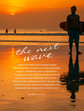 Surfing in Bali | Tiger Airlines | Tiger Tales Magazine | Cover Story Photos