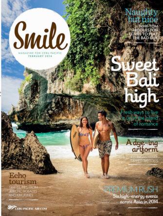 Bali Destination Photo | Cebu Pacific Airlines | Smile Magazine Cover