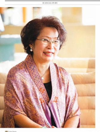 Business Profile - Lindratini Liauw | BCA Bank Magazine | Portrait and Location Photos