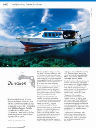 Bunaken, Sulawesi Feature | Colours Magazine | Garuda Indonesia