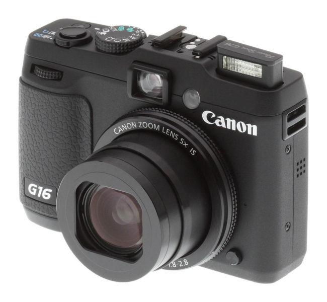 Canon PowerShot G16 12.1 MP CMOS Digital Camera