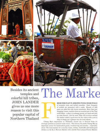 Chiang Mai Markets - Destination Guide | Thailand | Philippine Airlines | Mabuhay Magazine