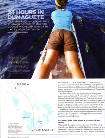 '24 Hours in Dumaguete' | Destination Guide | Philippine Airlines | Mabuhay Magazine