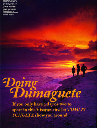 Dumaguete Destination Guide | Philippine Airlines | Mabuhay Magazine
