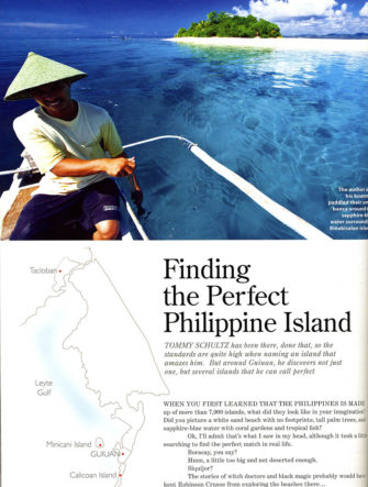Finding the Perfect Philippine Island | Destination Guide | Philippine Airlines | Mabuhay Magazine