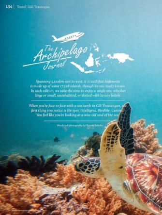Gili Trawangan Diving Destination | Garuda Indonesia | Colours Magazine