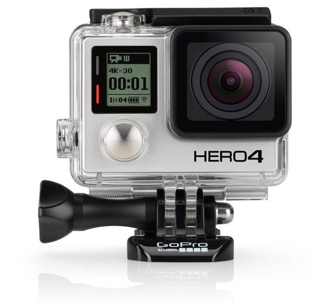 GoPro Hero 4: Silver Edition