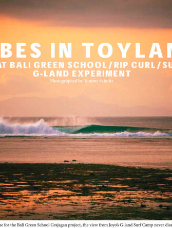Green School Bali Field trip to G-Land - Feature Article | Surftime Magazine | Travel & Surf Photos