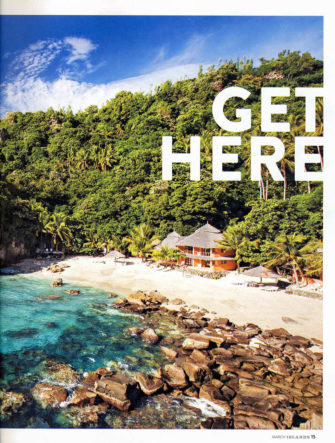 Apo Island Destination Feature | ISLANDS Magazine | Get Here - Double-Page Photo and Overview