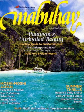 El Nido, Palawan | Cover Photo | Philippine Airlines | Mabuhay Magazine