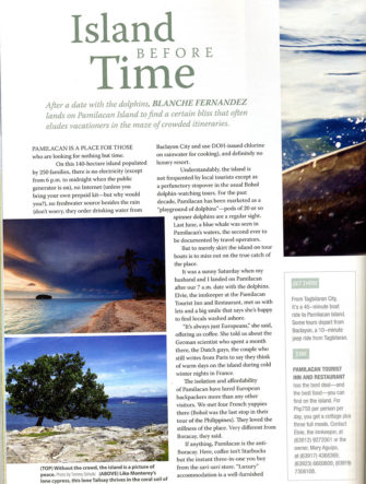 Pamilacan Island Feature | Travel Photos | Philippine Airlines | Mabuhay Magazine