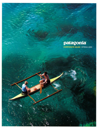 Sea Kayaking the Philippines | Patagonia Catalog Cover | Spring 2009