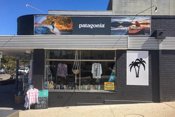 Surfing Nusa Tenggara with Belinda Baggs | Patagonia In-Store Display Advertising