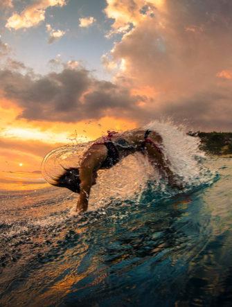 Belinda Baggs Indonesian Surf Trip | Body Surfing Photo | Patagonia Surf Catalog