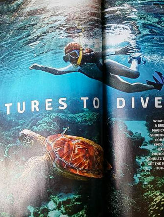 Underwater Photography Tutorial | Cebu Pacific Airlines | Smile Magazine Cover
