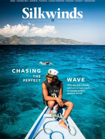 Gili Islands Surf Trip | SilkAir Airlines | Silk Wind Magazine Cover | Dedi Gun