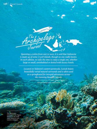 Luwuk, Sulawesi - Travel Destination | Garuda Indonesia | Colours Magazine
