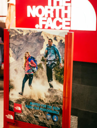 Mountaineering / Trekking Ad | The North Face | In-Store DIsplay