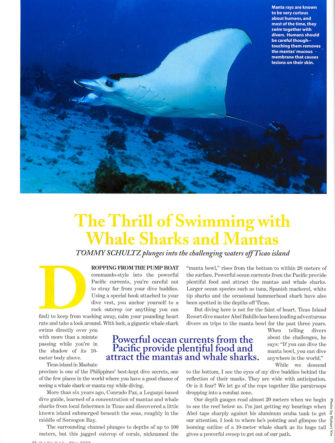 Ticao Island - Diving Guide | Philippine Airlines | Mabuhay Magazine