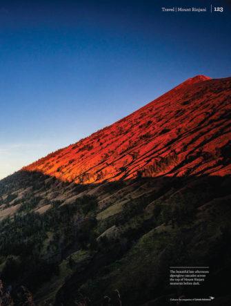 Trekking Mount Rinjani - Feature | Colours Magazine | Garuda Ind