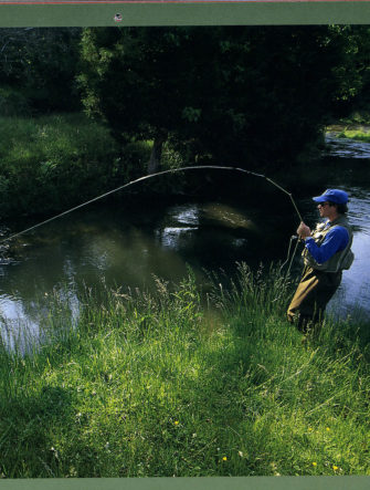 River & Fly Fishing Photography   Trout Unlimited Calendar - 2004 Edition