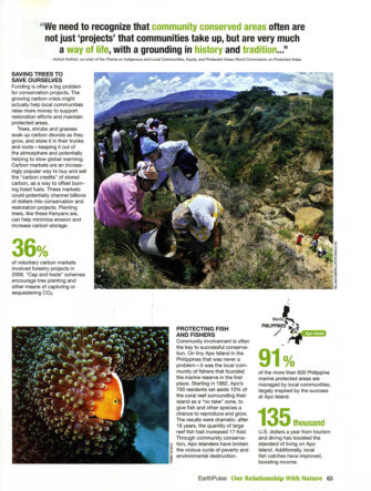 National Geographic Earth Pulse | Special Edition on Global Environmental Trends (Apo Island photo)