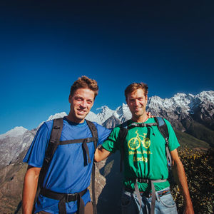 Trekking China's Tiger Leaping Gorge with Preston
