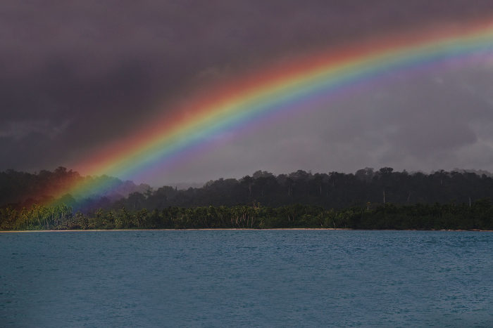 Mentawai Island Life: Boats, Beaches, Rainbows, & Blue Skies