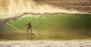 Tommy Schultz Surfing in Bali, Indonesia
