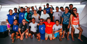 Tubbataha Sea Turtle Tagging Team - 2016
